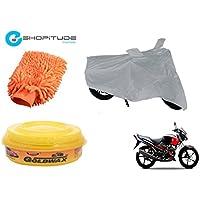 ESHOPITUDE-Bike & Car Cleaning & Utility Combo Set Of 3-Yamaha GLADIATOR
