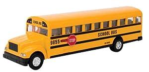 Amazon.com: Schylling Large School Bus Die Cast Toy: Toys