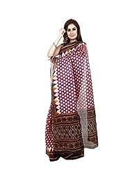Roop Kashish Art Bhagalpur Silk Saree(Rkjs3_Beige Pink)