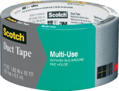 3m Duct Tape Multi Purpose Multi Purpose 10 Yd. Silver