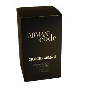 Armani Code homme/men (75ml) für 51 € im Angebot