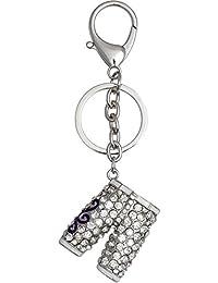 Super Drool Silver Metal Locking Keychain