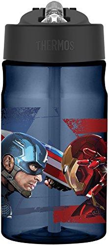 Thermos Captain America Civil War 12 Ounce Tritan Hydration Bottle