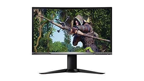 Lenovo Y27f 27-Inch FHD LED-Lit 16:9 Curved Widescreen Gaming Monitor with FreeSync (65BFGCC1US)