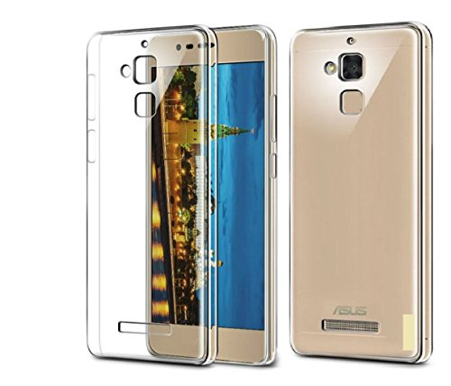 Efonebits(TM) Crystal Clear Hot Transparent Premium Soft Silicone Back Case Cover For Asus Zenfone 3 Max ZC520TL...