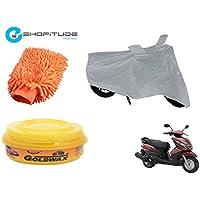ESHOPITUDE-Bike & Car Cleaning & Utility Combo Set Of 3-Yamaha RAY