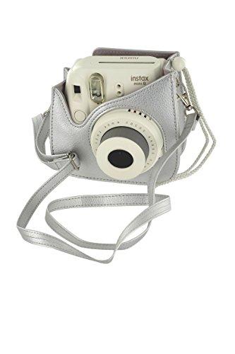 Fujifilm Housse pour Appareil Photo pour Instax Mini 8 - Argent