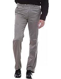 Sangam Apparels Men's Straight Fit Formal Trousers