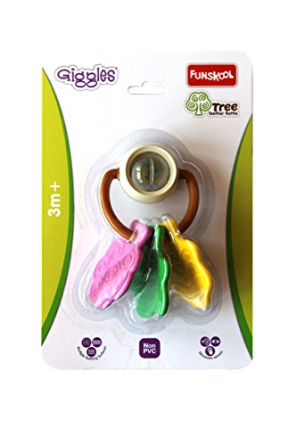 Giggles Tree Teether Rattle 2015, Multi Color