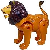 Casper - Motor Driven Battery Operated Lion For Kids. Walking Loin Toy Has Light & Sound.