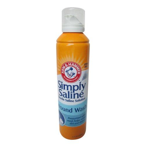 Arm & Hammer Simply Saline Wound Wash, 7.1 FZ (Pack of 4)
