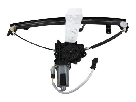 TYC 660175 Jeep Grand Cherokee Front Passenger Side Replacement Power Window Regulator Assembly with Motor