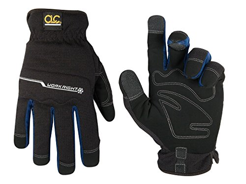 Leathercraft Workright Winter Flex Grip Work Gloves
