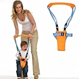 SOCOOL66 Teach Baby to Walk - Moonwalker (Baby Walker Walk Assistant is fully Adjustable) Walk with baby device includes safety straps and adjustable baby toddler harness.