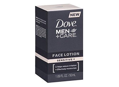 Dove Men+Care Sensitive + Face Lotion 1.69 FL.Oz.