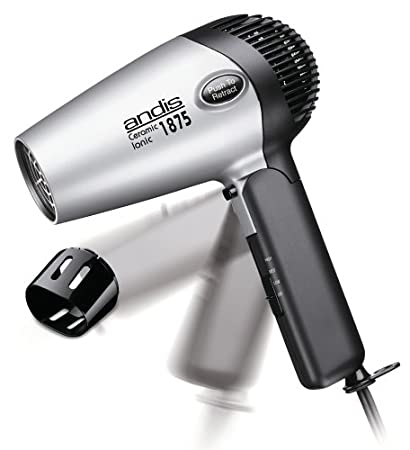 Andis RC-2 Ionic1875W Ceramic Hair Dryer with Folding Handle and Retractable Cord