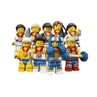 LEGO レゴ 8909 ロンドンオリンピック限定 TEAM GB 9体セット