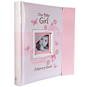 Amazon.com : Our Baby Girl Memory Book : Baby Photo Albums ...