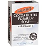 Palmer's Cocoa Butter Formula, Cream Soap Bar With Vitamin E - 100ml (Pack Of 3) + Free Ayur Tulsi Neem Soap 75g