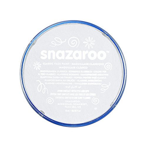 Snazaroo Classic Face Paint, White