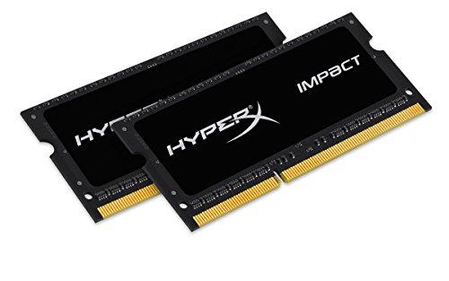 Kingston Impact SODIMM - 8GB Kit* (2x4GB) - DDR3L 1600MHz CL9 SODIMM