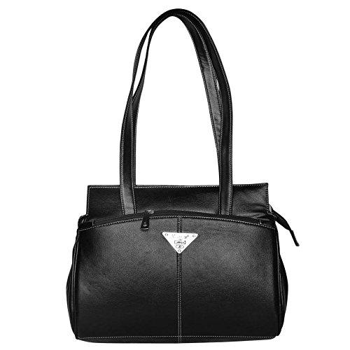 Trendy & Stylish Black Hand Bag - (SLOT)