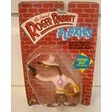 Who Framed Roger Rabbit Flexies Smart Guy Boss Weasel Bendable Figure by LJN Toys