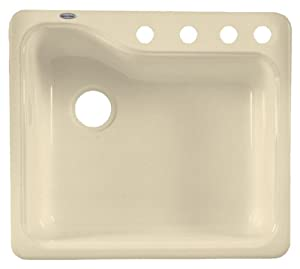 americast kitchen sink american standard 7172 804 345 silhouette 25 inch americas 1240