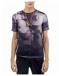 I AM TROUBLE BY KC Men's Crew Neck T-Shirt - B00XYFMOUW