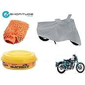 ESHOPITUDE-Bike & Car Cleaning & Utility Combo Set Of 3-Royal Enfield BULLET