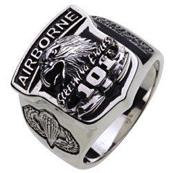 【セノーテ】 cenote r0369 17号 【シルバーアクセサリー リング・指輪】 アーミー イーグル カレッジリング メンズ