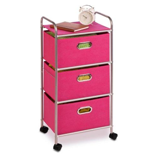 Honey-Can-Do International CRT-02347 3 Drawer Rolling Cart b