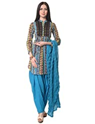 Vastra Vinod Women's Cotton Salwar Suit Set - B00SVBCXDM