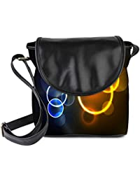 Snoogg Abstract Summer Background Womens Sling Bag Small Size Tote Bag