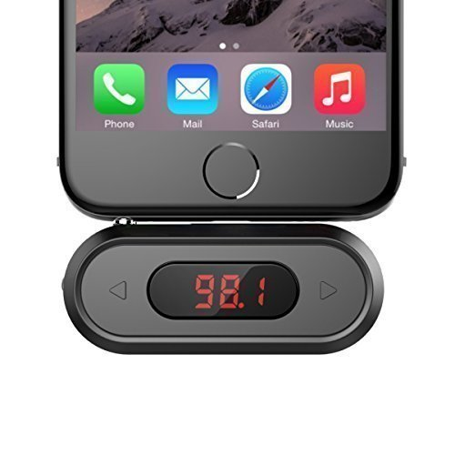 FM Transmitter, Doosl Universal Wireless in-Car Radio Adapter FM Modulator Music Player & Hands-Free Calls for iPhone, Android