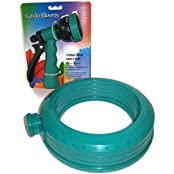 Summer Fun Kids Sprinkler & Sprayer Bundle, Two Items: One Circular Sprinkler With Adjustable Flow, One 7 Pattern...