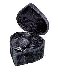Elegante Beautifully Crafted Hand-Cut ArtGlass Baroque Keepsake With Elegant Heart-Shape Velvet Case