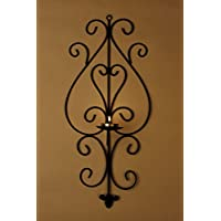 Swagger Set Of 2 Decorative Wall Sconce / Tealight Holders