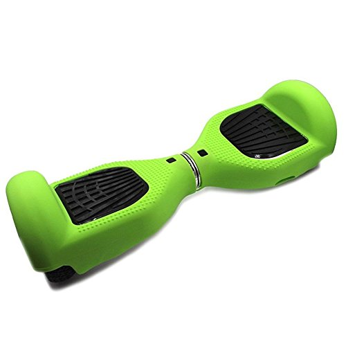 "Ai_Sport Silicone Protective Cover Case Skin Guard Protection for 6.5"" 2 Wheels Self Balancing Scooter Board Green"