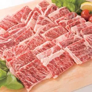 牛カルビ 1kg バーベキュー、BBQに最適【牛肉】(02719)
