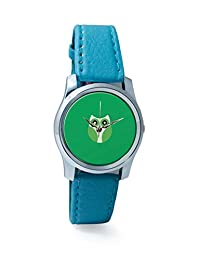 PosterGuy Light Green Cute Little Owl Bird Cartoon Analog Women's Wrist Watch-2238344536-RS2-S-TEA