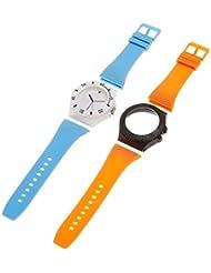 Fastrack D-I-Y Kit Analog White Dial Unisex Watch - 9949PP11