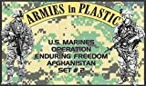 US Marines Operation Enduring Freedom Afghanistan Set #2 (18) 1/32 Armies in Plastic