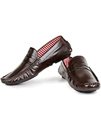 Harry Hill York Brown Leather Loafers For Men, Partywear, Evening Wear, Business Casual Loafers, Italian Design...