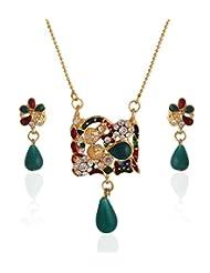 Niki Jewels Alloy Pendent Set For Women (Multicolour) (010 143 2769)