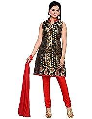 Roopali Creations Women's Chanderi Silk Salwar Suit Set - B013SVMBXQ