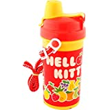 Sanrio Hello Kitty Water Bottle, 90mm, Red/Yellow