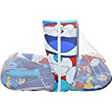 Natraj Industries Baby Bed With Mosquito Net Bedding Set Baby Bed Baby Mattress With Multi-color
