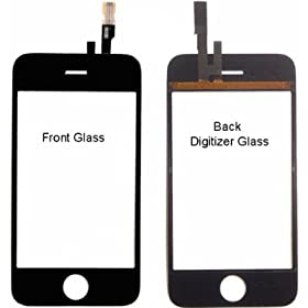 Apple Iphone 3G Replacement Front Glass and Digitizer - Repair your cracked glass