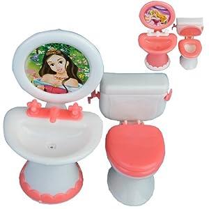 ... Mobili Da Bagno Set Wc E Lavandino: Amazon.it: Giochi e giocattoli